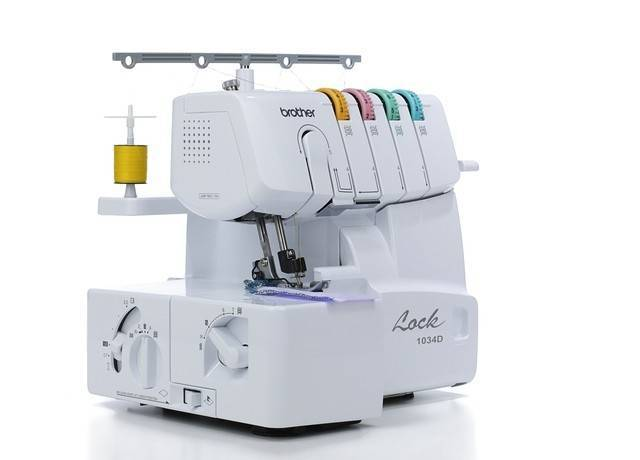 Brother 40D Serger Review Stitch And Sew New Brother Serger Sewing Machine
